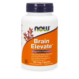 Now Foods Brain Elevate 120kaps