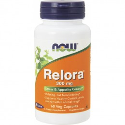 Now Foods Relora 300 mg 60 kaps