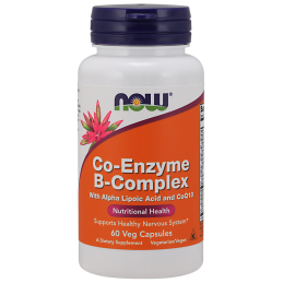 Now Foods Co-Enzyme B-Complex - 60 Veg Kaps