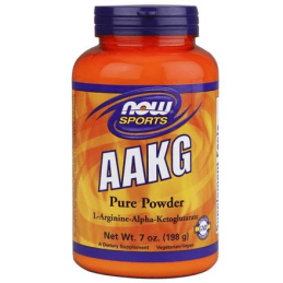 Now Foods Aakg 4200Mg Powder 198g