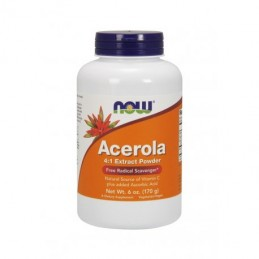 Now Foods Acerola 4:1 Ekstrakt 170g