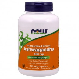 Now Foods Ashwagandha 450 Mg 180 Kaps