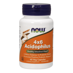 Now Foods Acidophilus 4X6 60kaps