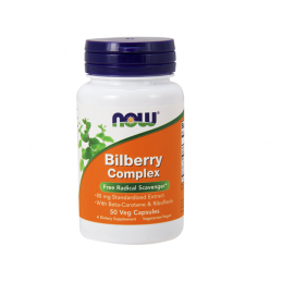 Now Foods Bilberry Complex 80mg 50kaps