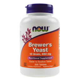 Now Foods Brewers Yeast 200kaps