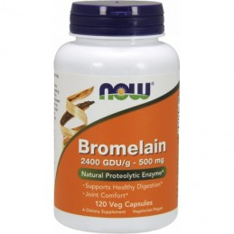 NOW Foods Bromelain - 120 kaps
