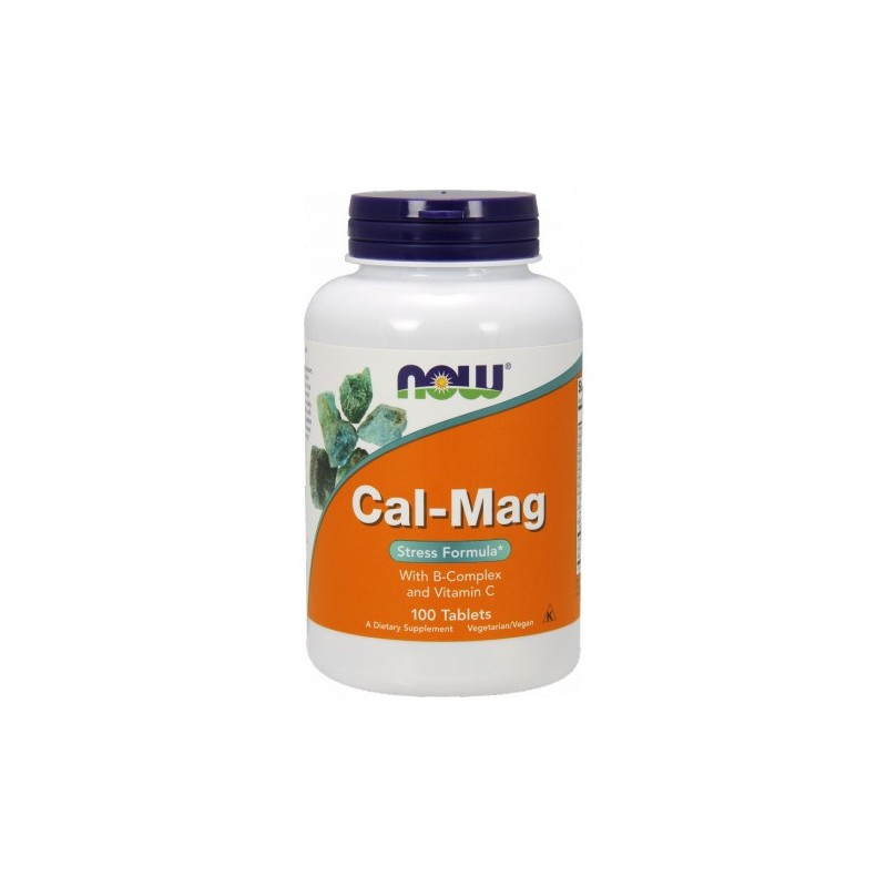 Now Foods Cal-Mag with B Complex 100kaps