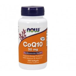 Now Foods CoQ10 50mg 200kaps