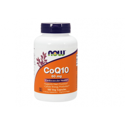 Now Foods CoQ10 60mg 180kaps