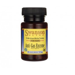 SWANSON Anti-Gas Enzyme 90 kaps