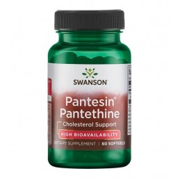 SWANSON Pantesin Pantethine 300mg 60 kaps