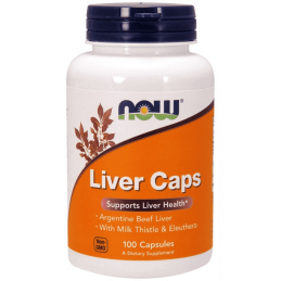 Now Foods Liver Caps 100 kaps