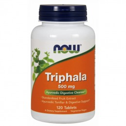 Now Foods Triphala 500mg 120 kaps