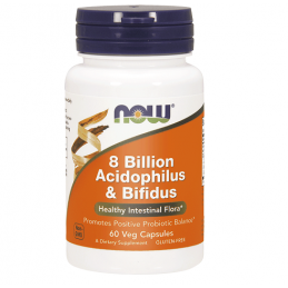 Now Foods 8 Billion Acidophilus & Bifidus - 60 kaps