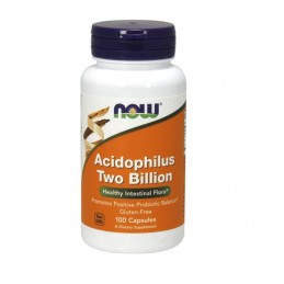 Now Foods Acidophilus Two Billion 100 kaps
