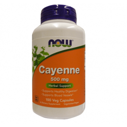 Now Foods Pieprz Cayenne 500mg 100 kaps