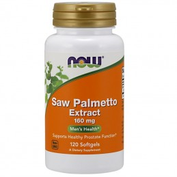 Now Foods Saw Palmetto Ekstrakt 160mg 120kaps